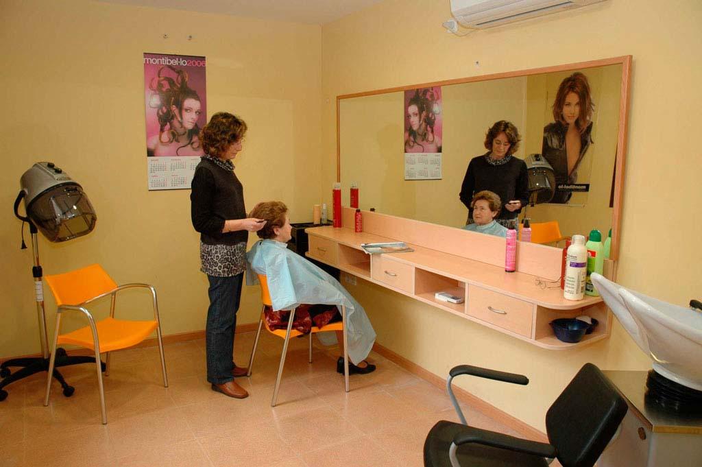 Servei de perruqueria Palau de Can Sunyer