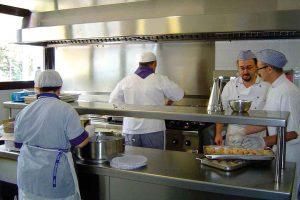 Cocina de la Residencia de Ancianos Palau de Can Sunyer