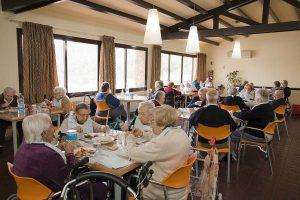 Comedor de la Residencia de Ancianos Palau de Can Sunyer