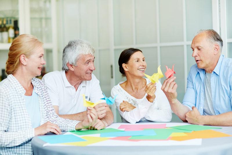 Manualidades para enfermos de alzheimer y sus beneficios Manualidades para enfermos de alzheimer
