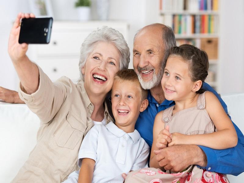 La relació dels avis amb els néts