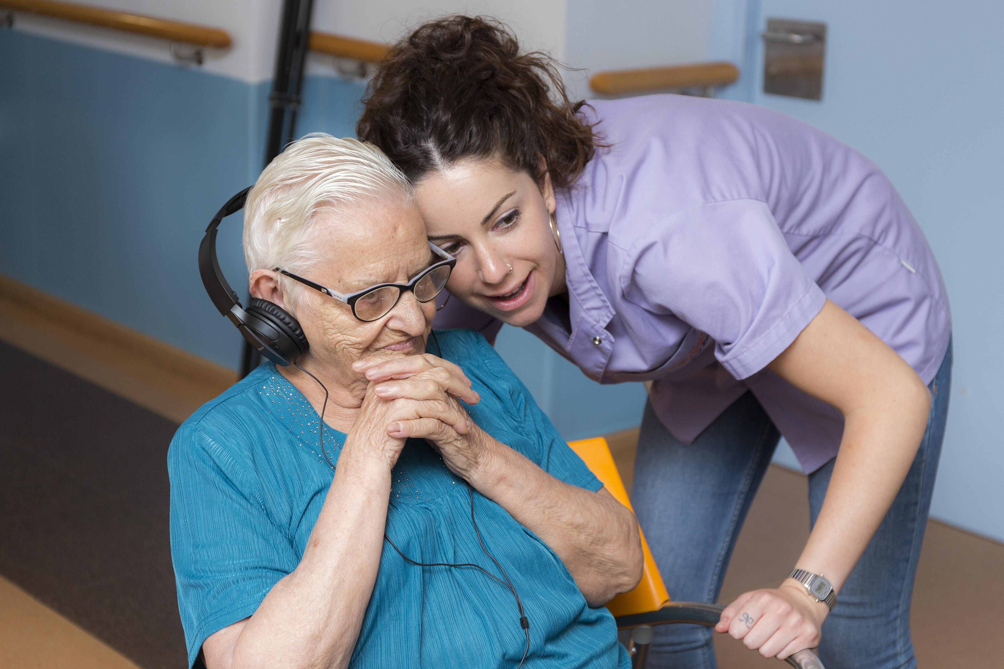 Activitats musicals per a gent gran