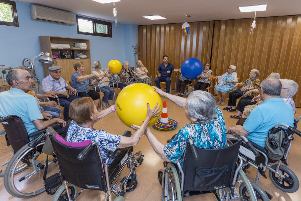 Fisioterapia en residències de gent gran